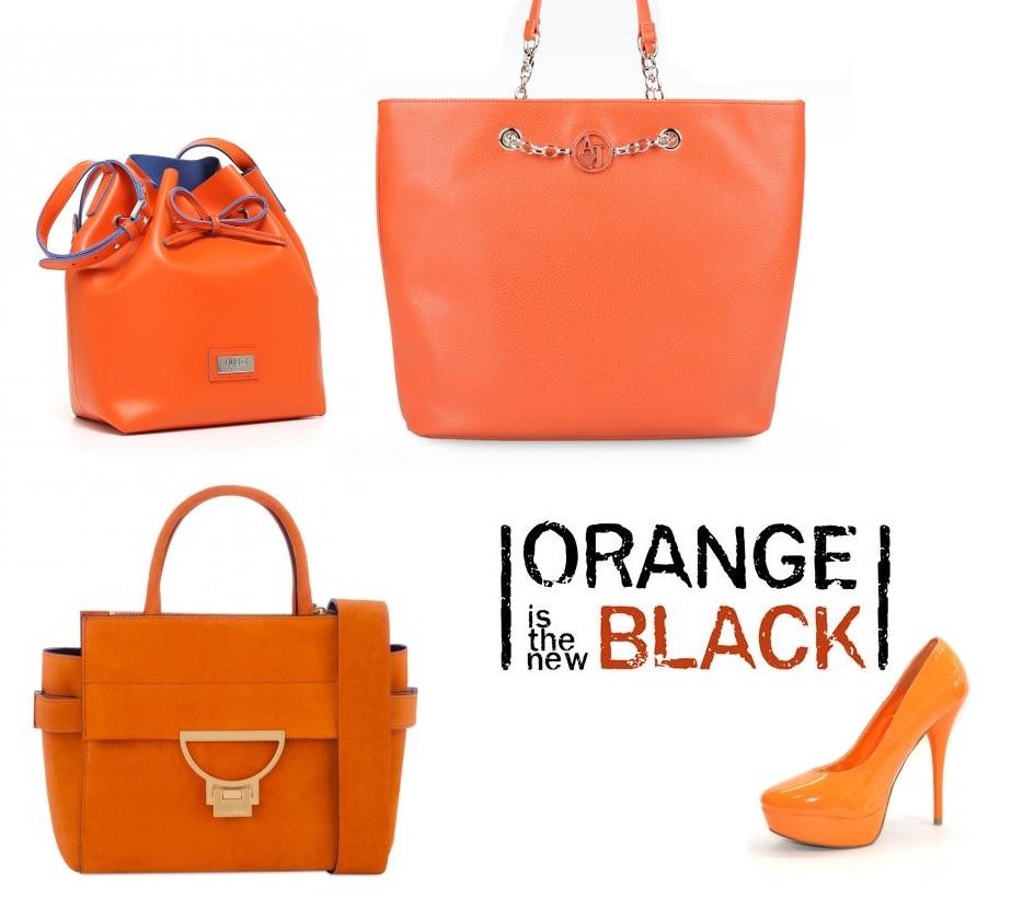 borse autunno 2015 orange