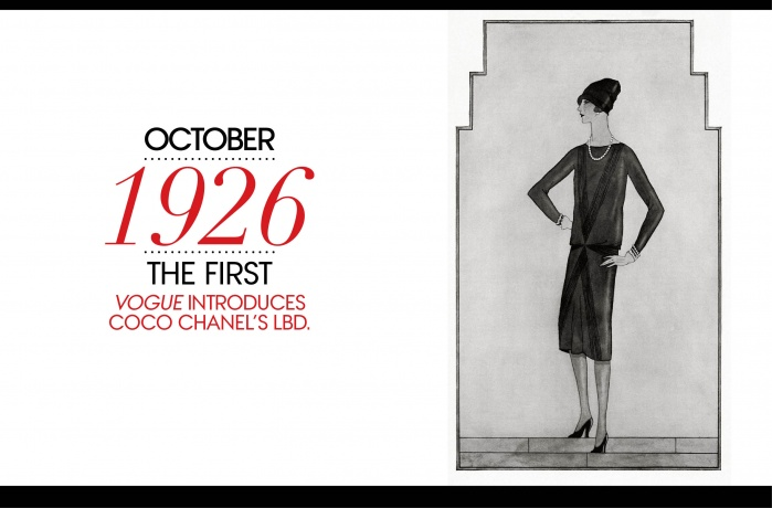 Vogue 1926 tubino nero