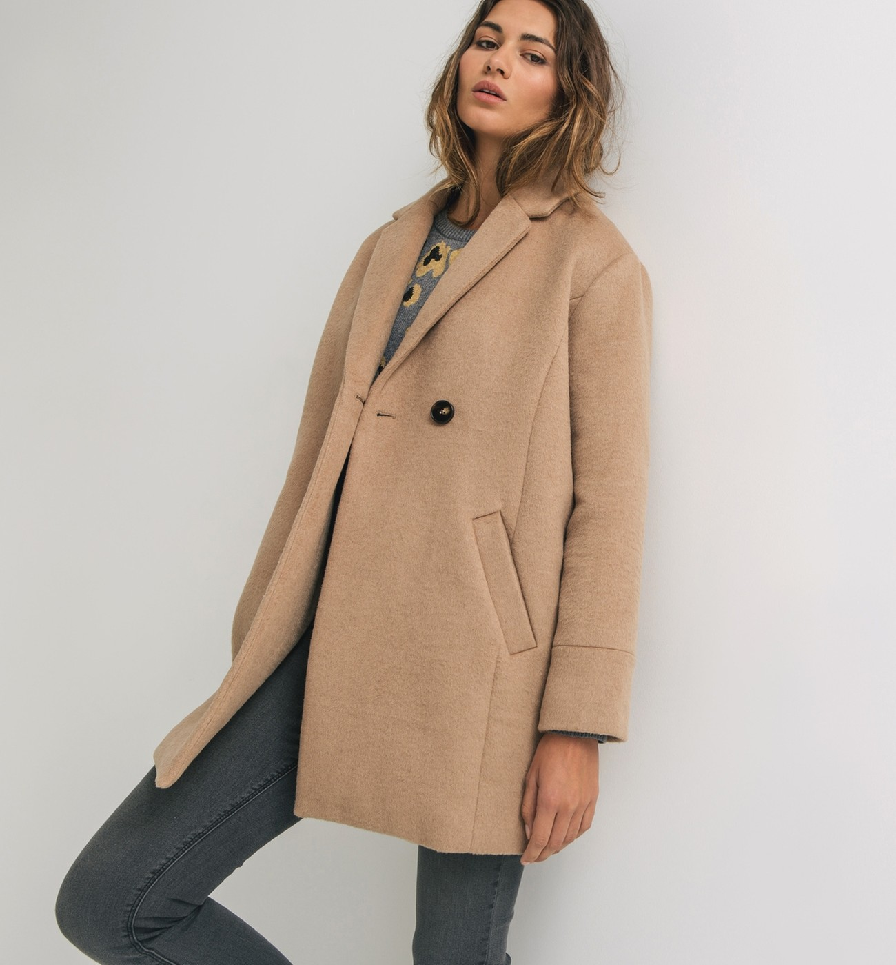 coat beige Promod