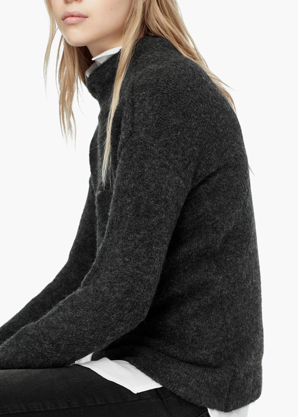 maglione grigio scuro
