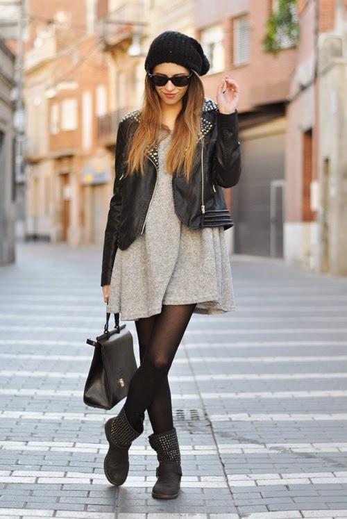 perfecto e vestito maglia