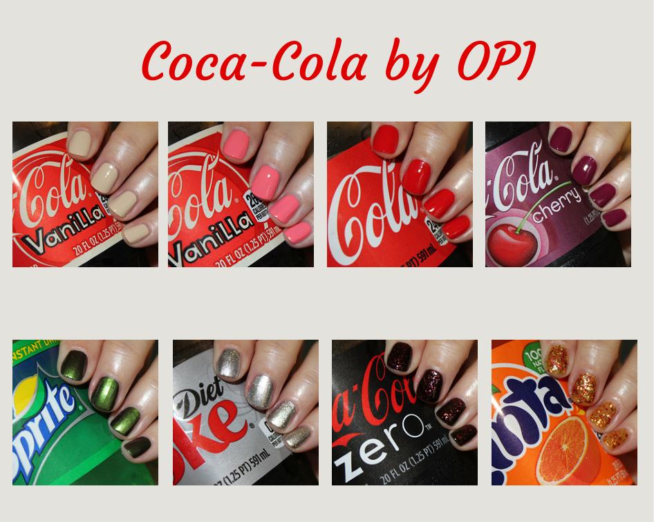 Opi Coca Cola Collezione Smalti Beauty Novità 2014 Bevande
