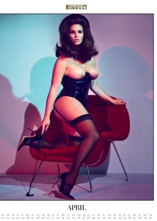 Calendario Pirelli 2015 Foto Modelle Curve Sexy Provocanti Candice Huffine