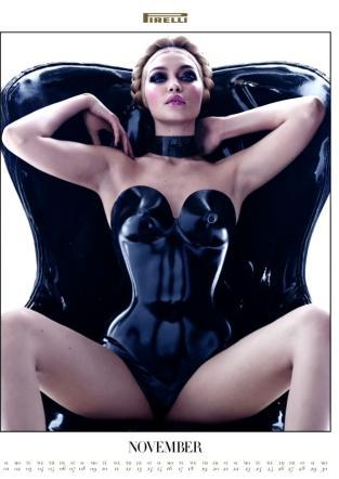 Calendario Pirelli 2015 Foto Modelle Curve Sexy Provocanti Gigi Hadid