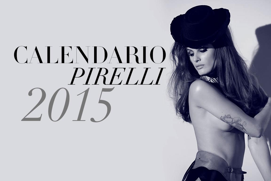 Calendario Pirelli 2015 Foto Modelle Curve Sexy Provocanti Adriana Lima
