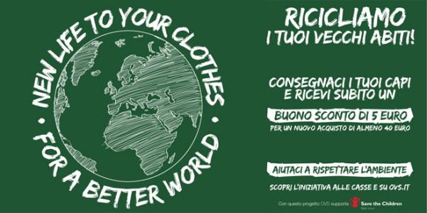 Campagne Riciclo Abiti Usati HM Ovs Intissimi 2014 Brand