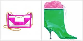 Capi Accessori Plexiglass Pvc Tendenza Abbigliamento 2014 Borsa