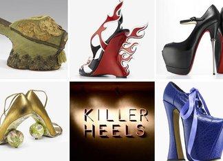 Killer Heels Mostra Tacchi Che Uccidono America Stati Uniti Maison Scarpe