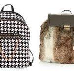 Zaino Chanel Effeto Used Graffiti Karl Lagerfeld Collezione Accessori Carpisa Accessorize Pied de Poule EcoPelliccia