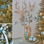 Albero Natale Colori 2014 Rosa Antico Nero Blu Tiffany