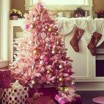 Albero Natale Colori 2014 Rosa Antico Nero Blu Tiffany Tonalità