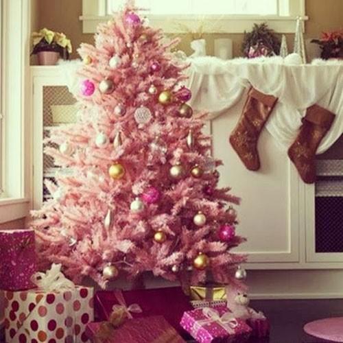 Albero Natale Colori 2014 Rosa Antico Nero Blu Tiffany Tendenza
