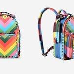 Valentino Rockstud Multicolor Zaino Collezione 2014 Maison Lusso Italia Brand