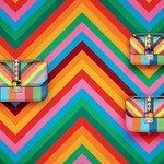 Valentino Rockstud Multicolor Zaino Collezione 2014 Maison Lusso Italia Brand Pochette