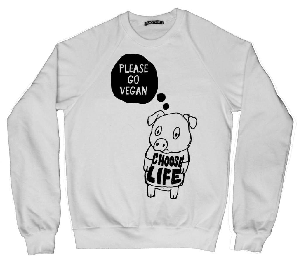 Black Score x Peta Diritti Animali Collezione TShirt Abbigliamento Magliette