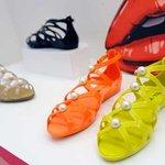Karl Lagerfeld per Melissa Scarpe Pvc Plastica Brand Collezione Primavera Estate 2015 Gatto Choupette Ballerine Perle