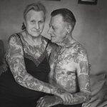 Anziani Tatuati Tattoo Eta 60 70 80 Anni Cambiamenti Corpo Coppia