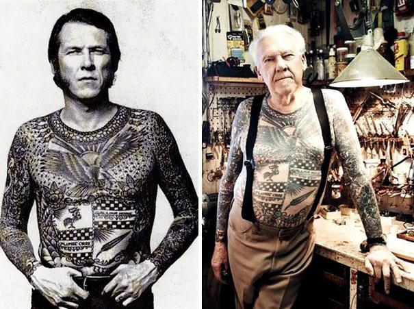 Anziani Tatuati Tattoo Eta 60 70 80 Anni Cambiamenti Corpo Storia