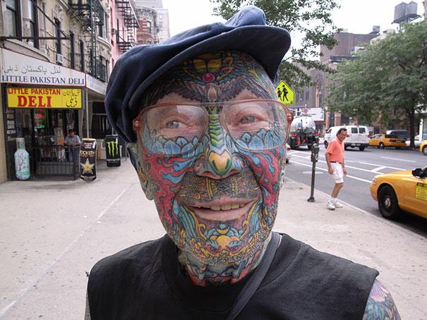 Anziani Tatuati Tattoo Eta 60 70 80 Anni Cambiamenti Corpo