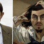 Benedict Lacroix Artista Celebrities Famose Quadri Personaggi Disney Mister Bean