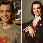 Benedict Lacroix Artista Celebrities Famose Quadri Personaggi Disney Sheldon Cooper