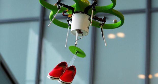Crocs Droni Come Commessi 2015 Robot