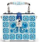 Dolce Gabbana Maiolica Collezione Accessori Borse Scarpe Primavera Estate 2015