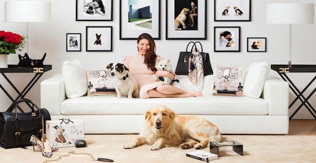 EF Loves Dogs Collezione per Cani Fuori Salone Salone del Mobile Milano 2015 Elisabetta Franchi Brand