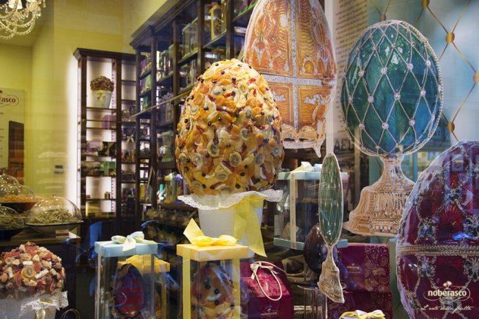 Frutta Cioccolato Uova Pasqua Ispirazione Fabergé Noberasco Tendenza