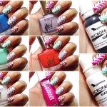 Nail Art Tutorial Zig Zag Multicolor Colori Smalti