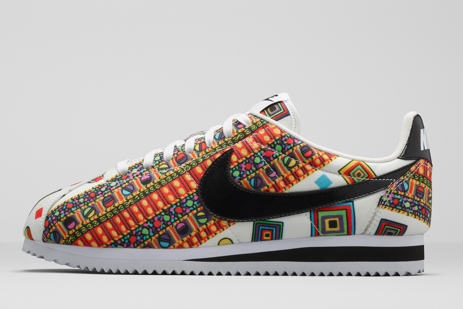 Nike Per Liberty London Collection Scarpe Primavera Estate 2015 Ispirazione Anni Settanta Geometrica Accessori