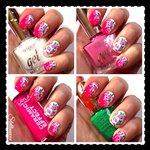 Smalti Nail Art Tutorial Pizzo e Rose Colori Primavera