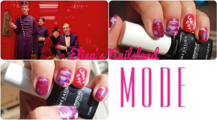 Tutorial Nail Art Grand Budapest Hotel Smalti Colori