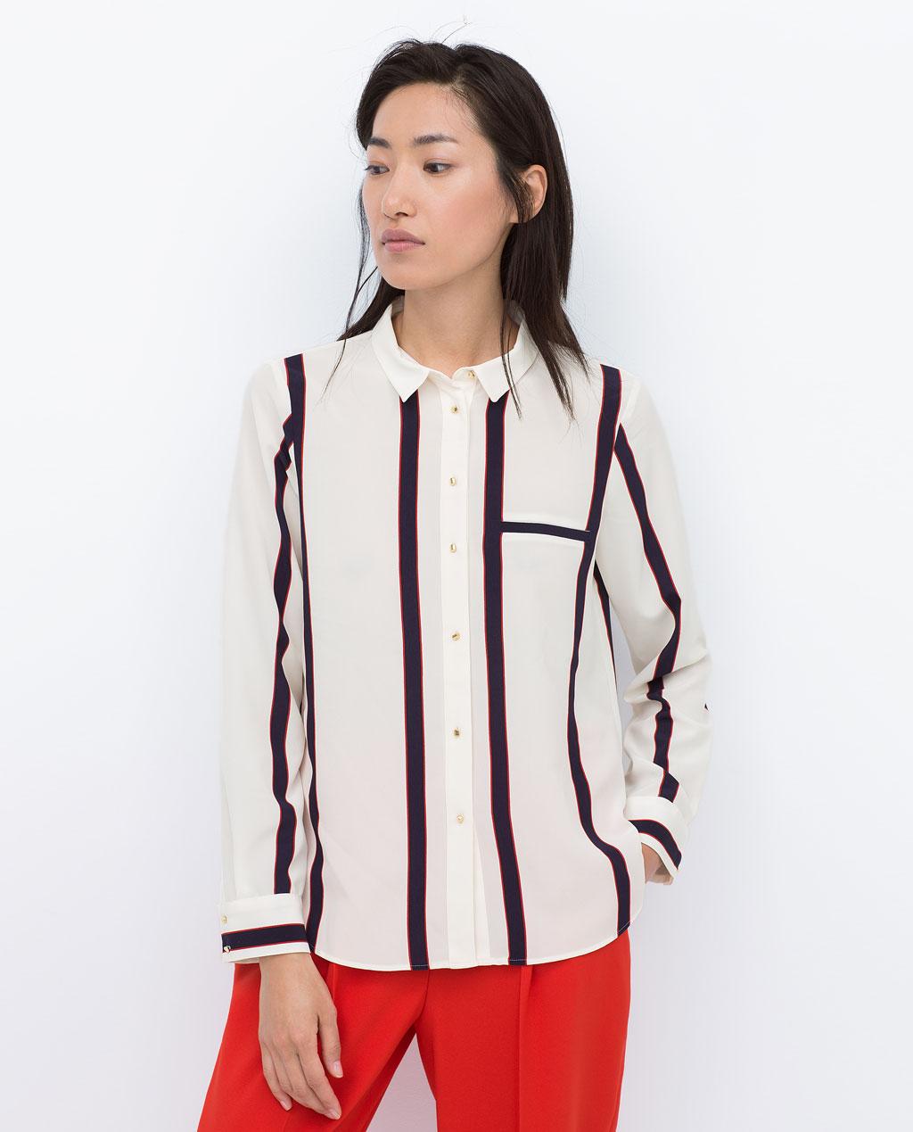 economico per lo sconto 12306 a8d51 camicie di primavera zara - Mode