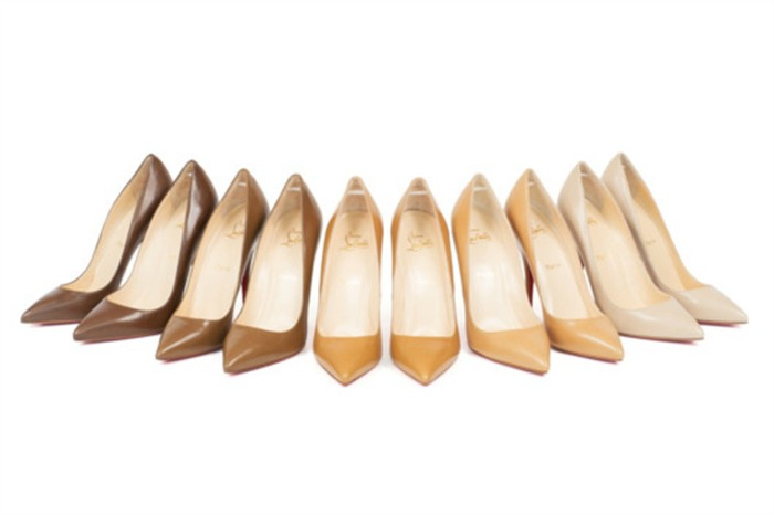 new nude christian louboutin