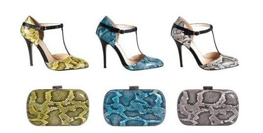 La nuova collezione Primadonna: scarpe pitonate per tutte
