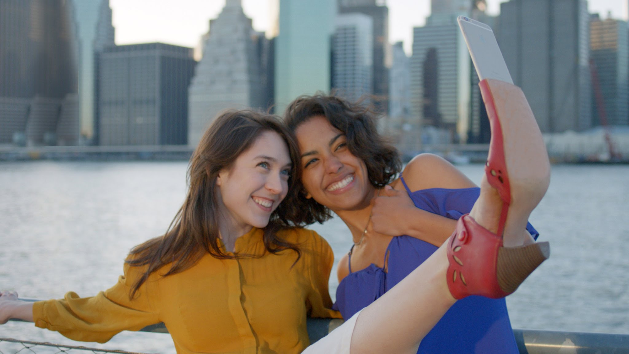 Selfie Shoes Miz Mooz Stick Trasformazione Foto Piedi Scatto Rivoluzione Autoscatto