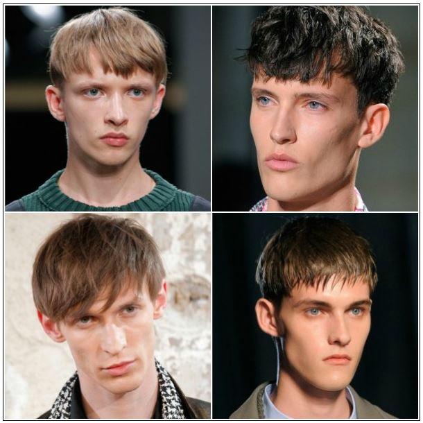 Tagli Uomo 2015 Frangia Mode