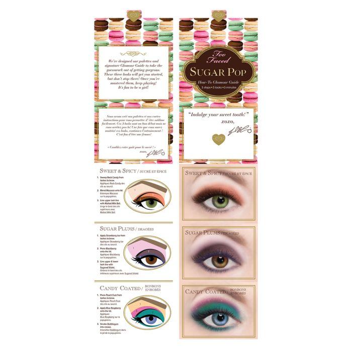 too faced sugar pop palette occhi