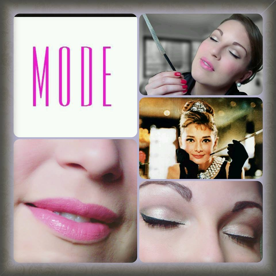 tutorial make up retrò audrey hepburn
