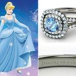 Anelli Principesse Disney Fidanzamento Sogno Cenerentola