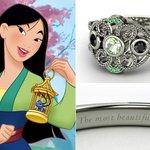 Anelli Principesse Disney Fidanzamento Sogno Mulan