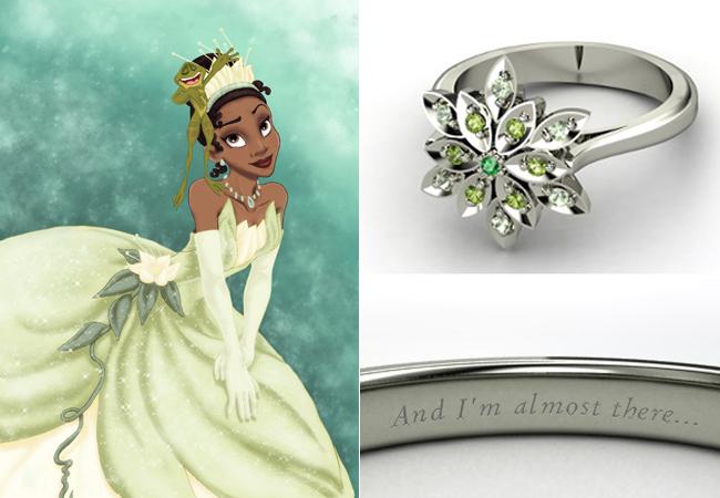 Anelli Principesse Disney Fidanzamento Sogno Anna