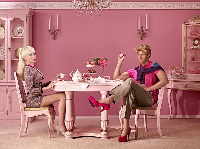Dina Goldestein Barbie Ken Stereotipi Uomo Donna Società Moderna