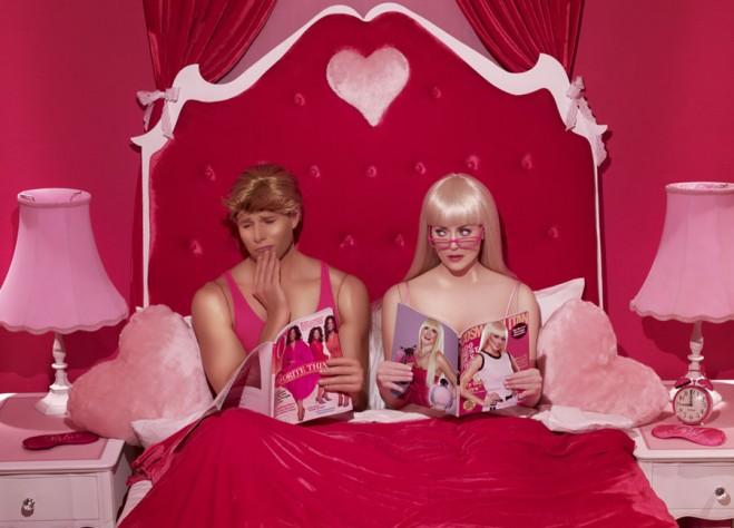Dina Goldestein Barbie Ken Stereotipi Uomo Donna Società Moderna Crisi