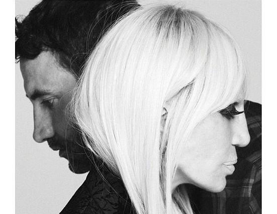 Donatella Versace Testimonial Givenchy Riccardo Tisci Maison Moda