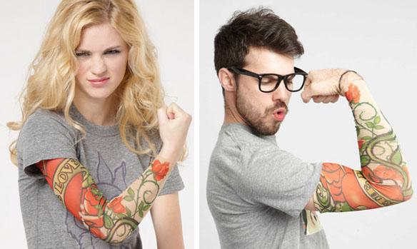 Fake Sleeve Tattoo Finte Maniche Tattoo Uomo Donna Braccia
