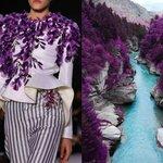 Liliya Hudyakova Incontro Arte Moda Abiti Vestiti Stilisti Paesaggi Natura (7)