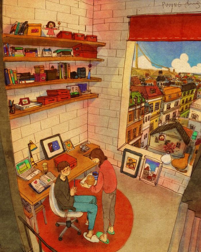 Vignette Amore Puuung Artista Orientale Piccole Cose (1)