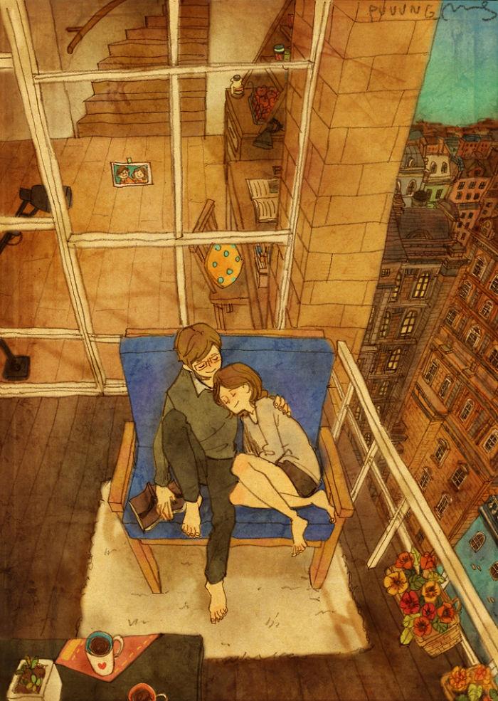 Vignette Amore Puuung Artista Orientale Piccole Cose